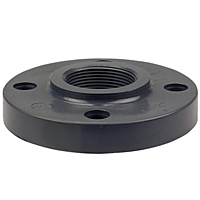 Thread Flange FPT - PVC Schedule 80, One-Piece Solid Design, 4551-H-3