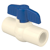 PVC Ball Valve, Threaded - PVC Schedule 40, 4660-T
