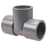 Socket Tee/Reducing Socket Tee S x S x S - Corzan® CPVC Schedule 80, 5111, 5111R