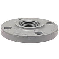 Socket Flange - Corzan® CPVC Schedule 80, One-Piece Webbed Design, 5151-W