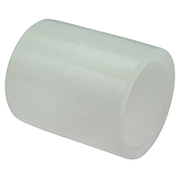 Socket Coupling S x S - Chem-Pure® Natural Polypropylene Schedule 80, 6201