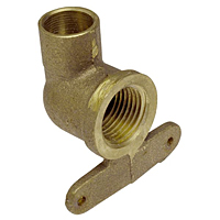 90° Hy-Set Elbow C x F - Performance Bronze™, 707-3-5-A-LF