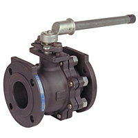 Split-Body Carbon Steel Ball Valve - Full Port, Class 150, F-515-CS-F-66-FS
