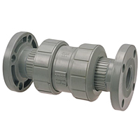 Ball Check Valve - True Union, Corzan® CPVC Schedule 80, EPDM, F51BC-E