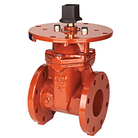 Gate Valve - Ductile Iron, Fire Protection, Resilient Wedge, Flanged, F-609-RWS