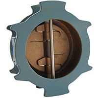 Check Valve - Lead-Free*, Iron, Fire Protection, Wafer Style, KW-900-W-LF