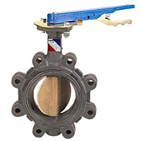 Butterfly Valve - Ductile Iron, Lug Type, 285 PSI, LD-5022