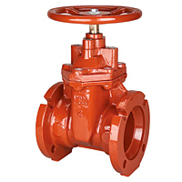 Gate Valve - Ductile Iron, Irrigation, Mechanical Joint, MJ-619-RWS