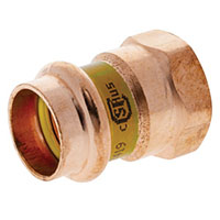 PCH603 - Adapter P x F - Wrot Copper