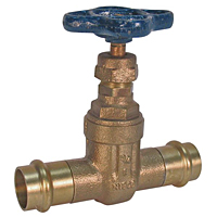 PF113 Gate Valve – Bronze, 200 PSI, Non-Rising Stem