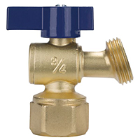 Boiler Drain - Quarter-Turn, FIP to Hose, QT73X