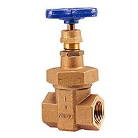 Gate Valve - Bronze, Non-Rising Stem, Stainless Steel Wedge, Threaded, T-176-SS