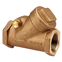 Check Valve - Bronze, Buna-N Seat Disc, Threaded Ends, T-413-W
