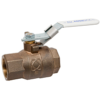 T-585-80-LF Two-Piece Bronze Ball Valve – Lead-Free*, Full Port, Threaded