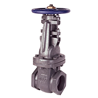 Gate Valve - Class 125, Cast Iron, Threaded, T-617-O