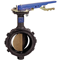 Butterfly Valve - Cast Iron, Wafer Type, 200 PSI, WC-2000