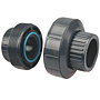 EPDM Socket Union S x S - PVC Schedule 80, 4533E