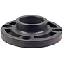 Socket Flange - PVC Schedule 80, One-Piece Webbed Design, 4551-W