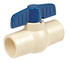 PVC Ball Valve Cup, Female - PVC Schedule 40, 4660-S