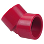 Socket 45° Elbow S x S - Kynar® Red PVDF Schedule 80, 6506