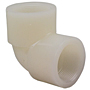 Thread 90° Elbow FPT x FPT - Kynar® Natural PVDF Schedule 80, 6607-3-3