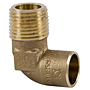 90° Elbow C x M - Performance Bronze™, 707-4-LF