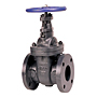 Gate Valve - Class 125, Cast Iron, All Iron Trim, Flanged, F-619-N