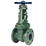 Gate Valve - Class 150, Ductile Iron, Stainless Steel Trim, Flanged, F-637-33