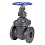 Gate Valve - Class 250, Cast Iron, Non-Rising Stem, Flanged, F-669