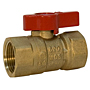 Gas Ball Valve - Female x Female, Lever Handle, GB1A