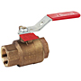 Two-Piece Bronze Ball Valve - Fire Protection, Full Port, KT-585-70-UL