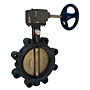 LD-2000 Large Diameter Butterfly Valve - Ductile Iron, 200 PSI, EPDM Seat