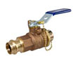 PC585-70-HC - Ball Valve - Bronze, 250 PSI, Hose Connection