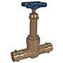 Gate Valve - Bronze, 200 PSI, Rising Stem, PF111