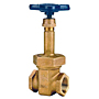 Gate Valve - Bronze, Rising Stem, Threaded, T-124