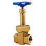 Gate Valve - Bronze, Class 300, Block Pattern, Stainless Steel Wedge, T-174-SS