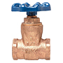 Gate Valve - Bronze, Full Port, Compact Design, Threaded Ends, T-29