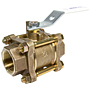 T-595-Y-LF Ball Valve – Lead-Free*, Three-Piece, Full Port