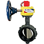 Butterfly Valve - Ductile Iron, Fire Protection, Normally Closed, UL Listed, Wafer Style, WD-3510-C-8